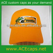 Custom 100% cotton baseball cap, solid color, embroidery logo as your design