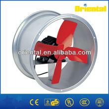 Electric industrial ventilation fan/external axial fan motor/exhaust fans