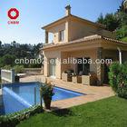 prefabricated beach luxury villa