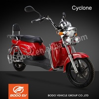 Cyclone EEC approved powerful 2 wheel electric scooter motorcycle 45km/h mileage range 45km/charge