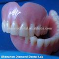 Extraíble dental de acrílico de la dentadura( dientes de resina) suministros