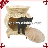 S&D handicraft PE rattan cat nest