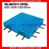 1211 With Steel Pallet Plastik