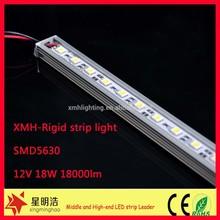 Aluminum profile led strip light, led rigid bar, led rigid strip