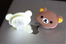 Cute Cartoon Cable Wrap with Clip for Mobile/Mp3 Cord