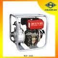 13hp 3' pulgadas agrícola diesel bombas de agua, diesel de alta presión de la bomba de combustible