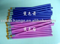 mood pencil, ,wood pencil . colorchanging pencils