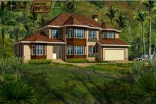 Luxury prefabricate house