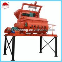 500L Twin Shaft Electric Concrete Mixer