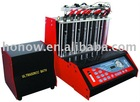 fuel injector diagnostic and cleaning machine