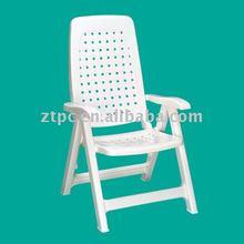 PP Plastic white plastic lounge chair