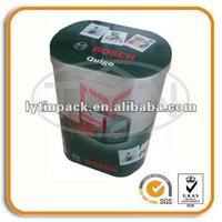 Rectangular standard industrial tool tin box
