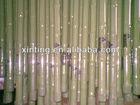 plastic coated steel garden bamboo tube