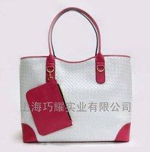 Fashion check PU shoulder bag