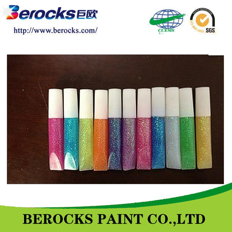 colorido e inodoro cola glitter