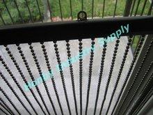 6mm Cool Gun Metal Beaded Window Curtain