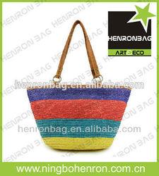 2014 Wholesale Cheap Straw Bag