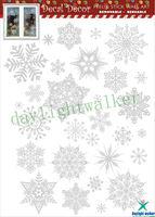 1120 waterproof transparent christmas cling static pvc window sticker