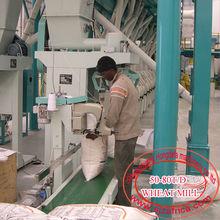 HDF 50TPD wheat flour mill/wheat roller mill/wheat flour machine
