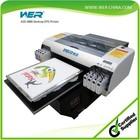 2014 newest model DTG t-shirt printing machine a2 desktop flatbed printer