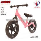 2014 steel kid balance bike on sale children bicycle/kid running bicycle ISO8124 EN71 CE SGS