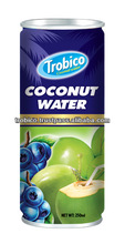 Coconut Water with Blue Berry Flavor