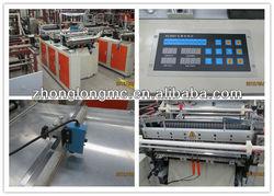 Automatic control plastic T-shirt bag making machine