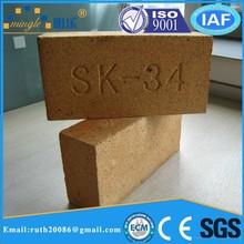Dimensions brique réfractaire