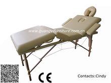 New folding massage table