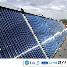 Solar Keymark vacuum tube heat pipe solar collector for swimming pool