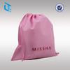 Custom non woven drawstring dust bag for handbag