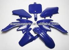 Blue Body Plastic Fairing CRF XR 50 SDG SSR BBR Xtreme Taotao 50cc70cc110cc125cc /Dirt Bike Spare Parts/Pit Bike Spare Parts