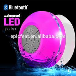 Hot new products for 2015 electronics Bathroom Bluetooth waterproof speaker, Mini Speaker bluetooth