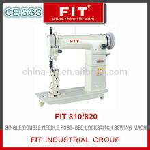 single /double needle post-bed lockstitch sewing machine