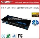 3D 4Kx2K HDMI Splitter 1.4 v