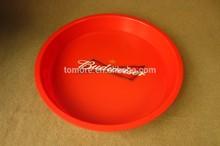 Round Plastic bar tray ,cheap plastic serving tray for bar pub