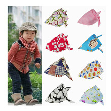 2015 Fashion Lovely Printed Cotton Magic Baby Scarf