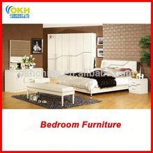 cama de madeira de móveis de luxo