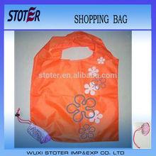 Reusable Shopping Tote Bag - Folded into a Dragon fruit