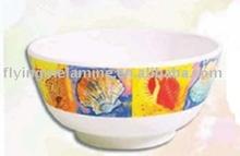 Melamine rice bowl