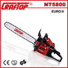 2.2kw gasoline chain saw 5800 with easy start