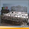 antiguos de hierro forjado de hierro fundido muebles de cama para la venta