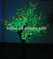2.5m natal do diodo emissor de luz da árvore do fruto de laranja para a decoração exterior fz-1536-2