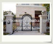 Top-selling modern hand forging rod iron entrance gates