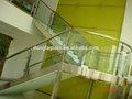 templado de vidrio escaleras precio hecho en china