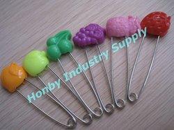 Fruit Design Lock Diaper Safety Pin