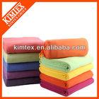 2014 New fashion soft printed polyester polar fleece blanket