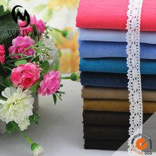 Rigid cotton fabric corduroy for pants