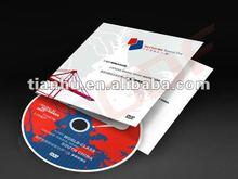 2012 advertising folder with pocket for CD