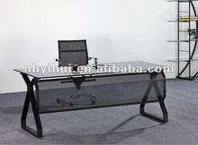 modern tempered glass office desk 2012